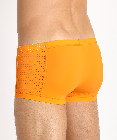 Gregg Homme Drive Italian Mesh Boxer Brief Orange