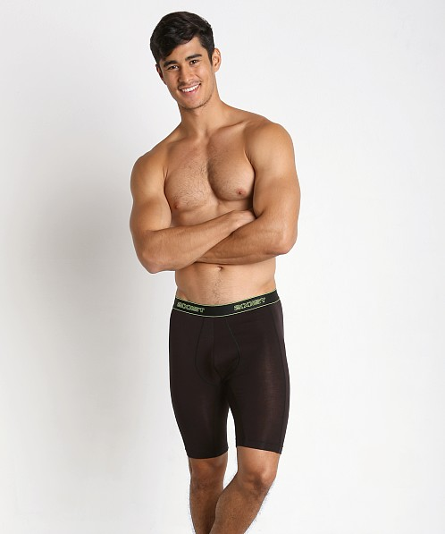 2xist 24 Collection Tencel Stretch Boxer Brief Black