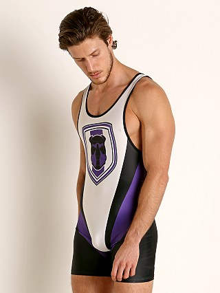 Cell Block 13 Kennel Club Singlet Purple