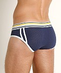 Jack Adams Air Pack Up Pouch Brief Navy, view 4