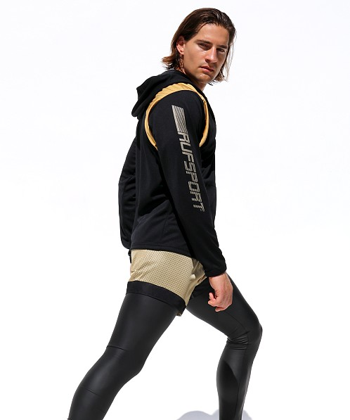 Rufskin Avalanche Hooded Sports Jacket Black