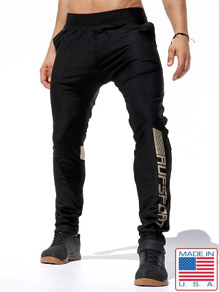 Rufskin Frost Slim Fit Track Pants Black
