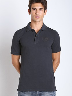 G-Star Hav Pique Polo Shirt Mazarine Blue