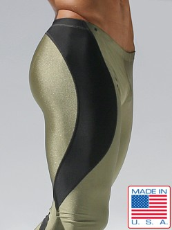 Rufskin Lynx Running Tights Olive/Black