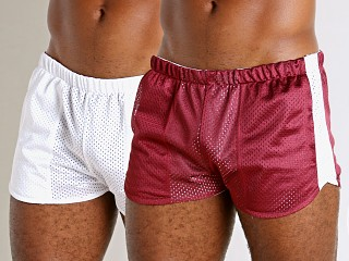 You may also like: LASC Reversible Athletic Mesh Shorts Burgundy/White