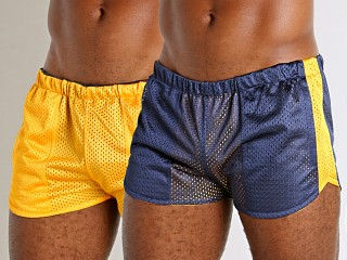 You may also like: LASC Reversible Athletic Mesh Shorts Navy/Yellow