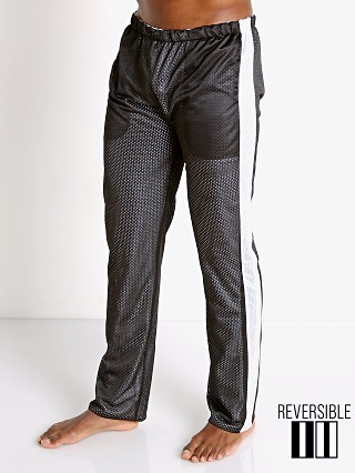 Complete the look: LASC Reversible Athletic Mesh Pants Black/White