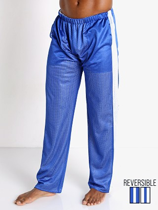 Complete the look: LASC Reversible Athletic Mesh Pants Royal/White