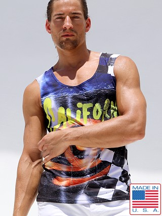 Rufskin Tag Sport Tank Top Sublimation Print