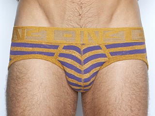 C-IN2 Hand Me Down Low Rise Profile Brief Letterman Heather