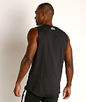 Under Armour Charged Cotton Tank Top Black/White, view 4