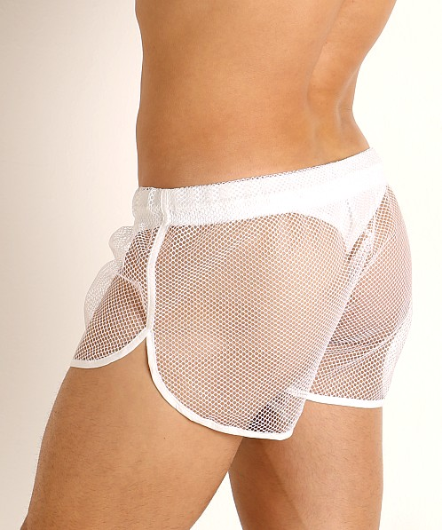 McKillop Ignite Net Mesh Shorts White