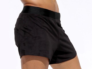 Complete the look: Rufskin Vast Ultra Suede Sport Shorts Black