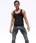Rufskin Void Ultra Suede Tank Top Black, view 1