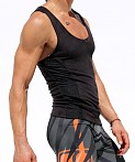Rufskin Void Ultra Suede Tank Top Black, view 3