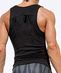 Rufskin Void Ultra Suede Tank Top Black, view 4