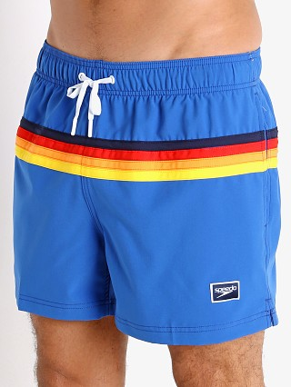Model in turkish sea Speedo Colorblock Volley Swim Trunk