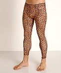 2xist Performance Legging Photo Real Cheetah, view 3
