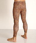 2xist Performance Legging Photo Real Cheetah, view 4