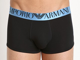 Emporio Armani Shiny Logo Band Trunk Black