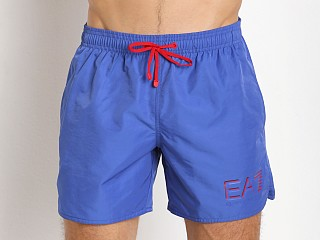 Emporio Armani Sea World Swim Shorts Dazzling Blue