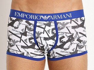 Emporio Armani Printed Eagle Trunk White