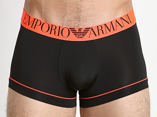 Emporio Armani Fluo Piping Microfiber Trunk Black