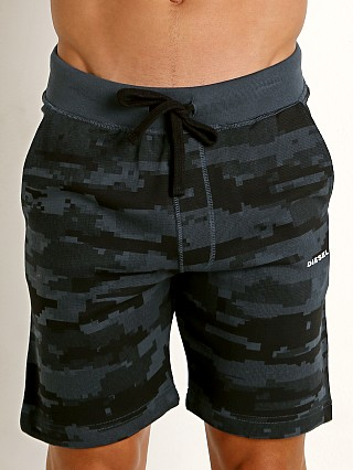 Diesel Camo Pan Lounge Shorts Navy