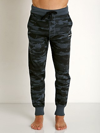 Diesel Camo Peter Lounge Pants Navy