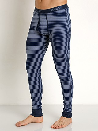 2xist Essential Long John Winter Stripe/Varsity Navy/Vintage Ind