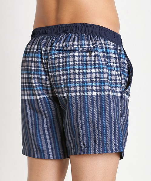 Hugo Boss Cardinalfish Swim Shorts Open Blue