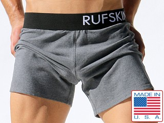 Rufskin Daniel Loose Fit Stretch Lounge Shorts Grey