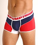 Pump! Academy Micro Mesh Free-Fit Boxer Red/White/Blue, view 3