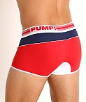 Pump! Academy Micro Mesh Free-Fit Boxer Red/White/Blue, view 4