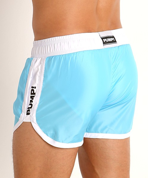 Pump! Micro-Fiber Watershort Trunk Aqua