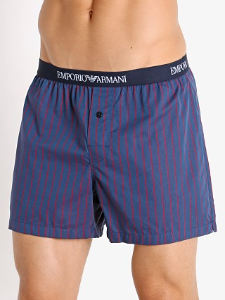 You may also like: Emporio Armani Yarn Dyed Woven Boxer Shorts Aviation