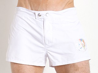 Diesel Sandyred Peachskin Swim Shorts White