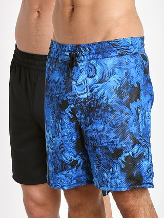 Diesel Vega Reversible Tiger Shorts Black