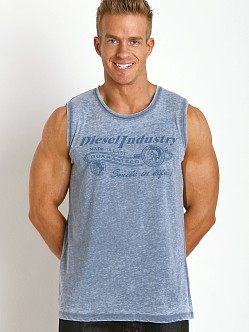 Diesel Adamy Beach Tank Top Iceberg