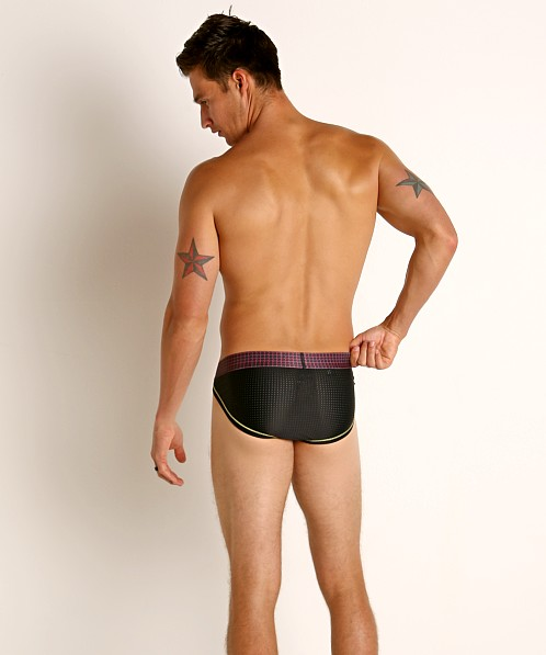 2xist Power-Mesh Sport Brief Raspberry Sorbet