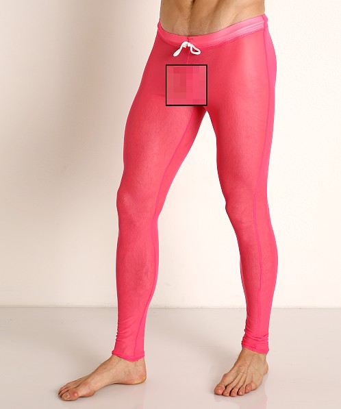 McKillop Sleek Seduce Mesh Lounge Tights Pink