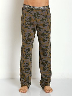 Emporio Armani Camouflage Lounge Pants Army