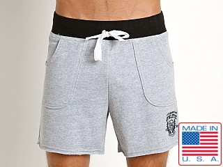 Timoteo Champ Gym & Lounge Short Heather Grey