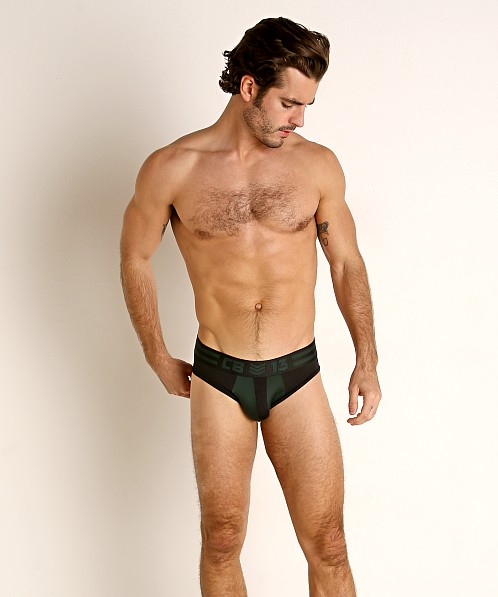 Cell Block 13 Cyclone 2.0 Brief Green