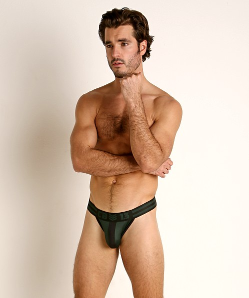Cell Block 13 Cyclone 2.0 Thong Green