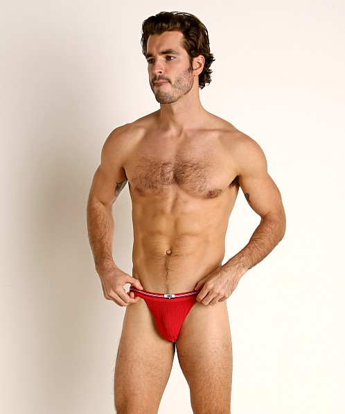 Cell Block 13 Tight End Swimmer Jockstrap Red