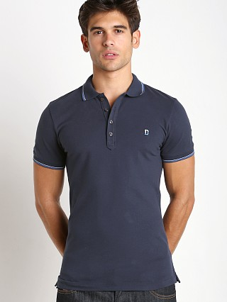 Diesel T-Skin Piquet Polo Shirt Total Eclipse