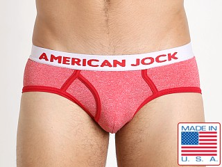 American Jock Olympic Boy Brief Red