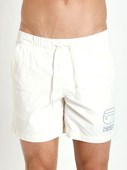 G-Star Yoshem Raw Beach Shorts Dizrey Lt Chalk