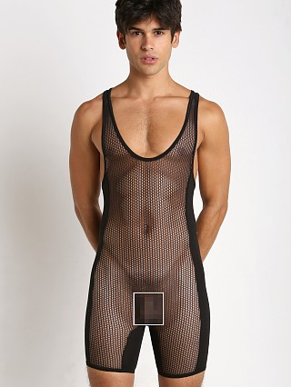 You may also like: Go Softwear Hard Core Chain Link Mesh Singlet Black